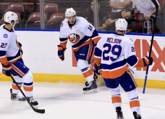 The Islanders haven't abandoned their hard-working style of play by any means this season, but their ability to play a more well-rounded style of hockey attests to the difference in the team and the way that it is currently being coached. (Robert Mayer-USA TODAY Sports)