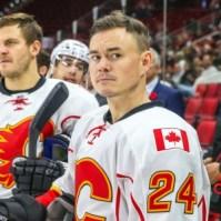 Calgary Flames Jiri Hudler Photo by Andy Martin Jr