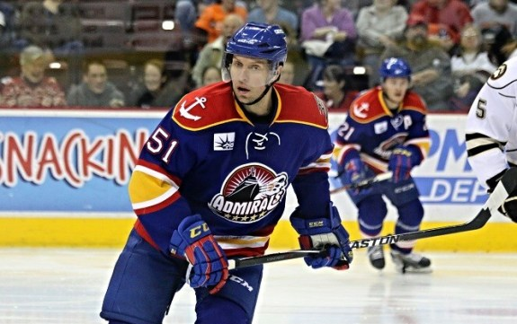 After his time with the Wild, Heatley signed with the Anaheim Ducks and was promptly sent to AHL affiliate Norfolk Admirals (Photo credit: Stat19 @ Flickr)