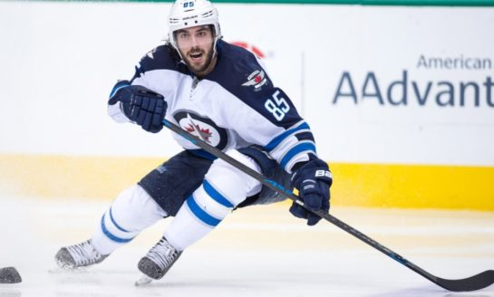 Perreault Brings Punch to Jets Fourth Line