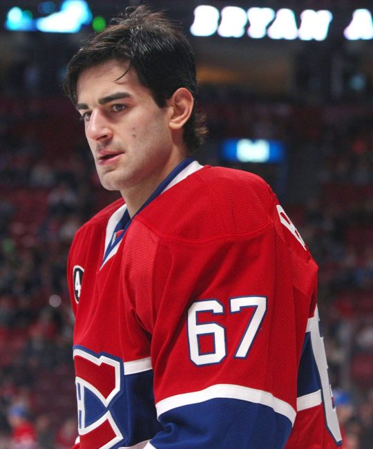 Max Pacioretty has been Montreal's most valuable forward so far this season. (Jean-Yves Ahern-USA TODAY Sports)