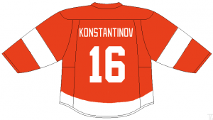 Vladimir Konstantinov of the Detroit Red Wings.