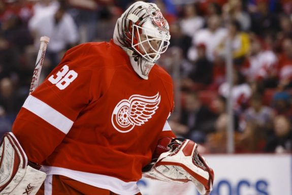 Tom McCollum of the Detroit Red Wings.