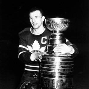 Ted 'Teeder' Kennedy led the Maple Leafs to five Stanley Cups.