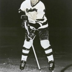Larry Leach, more famous as a Portland Buckaroo, took the strangest penalty shot in NHL history.