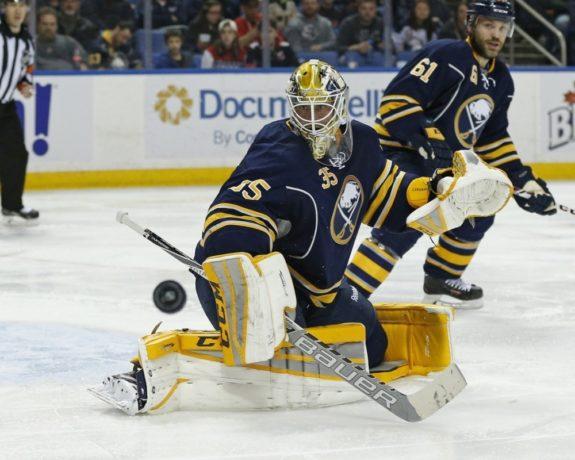 Buffalo Sabres Anders Lindback