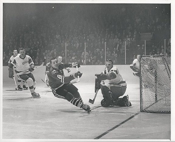 best goaltenders - Terry Sawchuk in the 1963