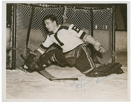 Frank Brimsek, Boston Bruins