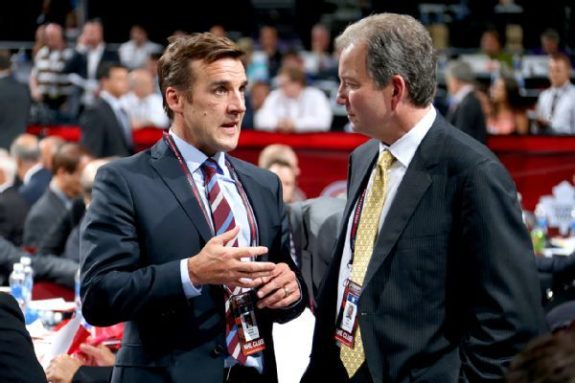 Former Washington Capitals GM George McPhee