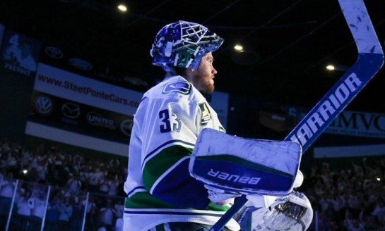 Canucks: Between the Pipes