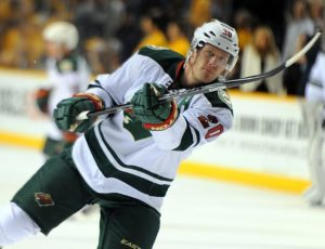Ryan Suter will not be returning to Nashville for the 2016 All-Star Game. (Christopher Hanewinckel-USA TODAY Sports)