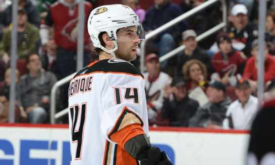 Ducks Sign Henrique to Contract Extension