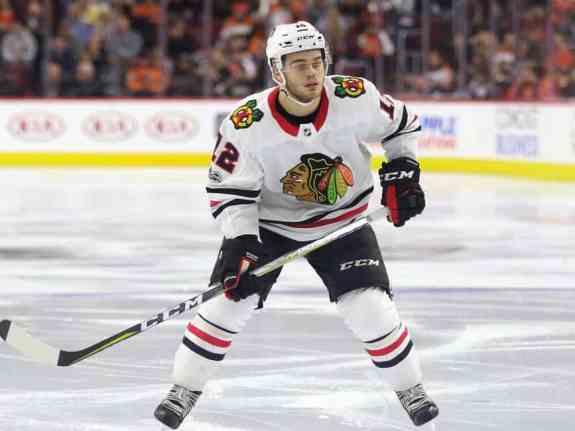 Alex DeBrincat Blackhawks