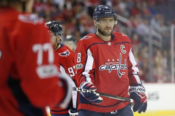 Washington Capitals forward Alexander Ovechkin