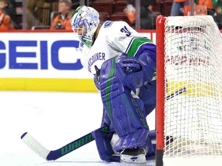 Anders Nilsson Canucks