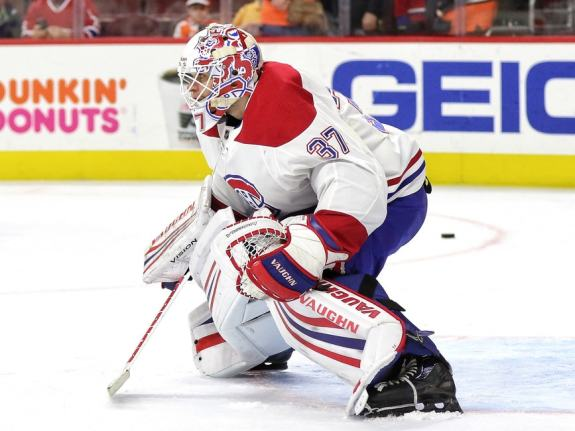 Montreal Canadiens goalie Antti Niemi