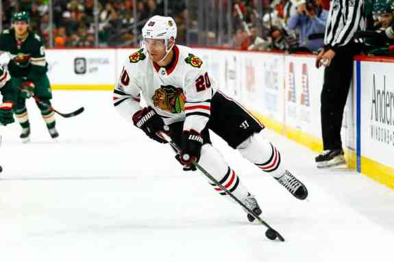 Chicago Blackhawks left wing Brandon Saad