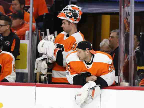 Brian Elliott Michal Neuvirth Flyers