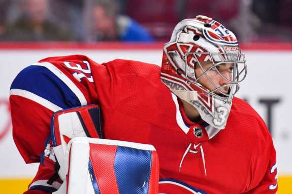 Montreal Canadiens goalie Carey Price