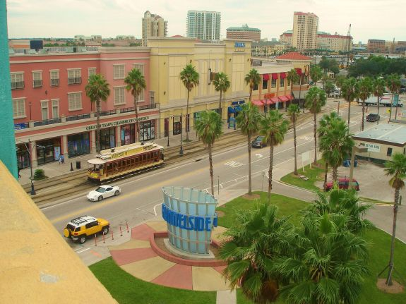 Channelside drive located in Tampa