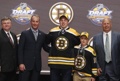 (Timothy T. Ludwig-USA TODAY Sports) Charlie McAvoy just seemed destined to be a Boston Bruin, especially considering he was already playing at Boston University. That was one of only four picks I got completely right.