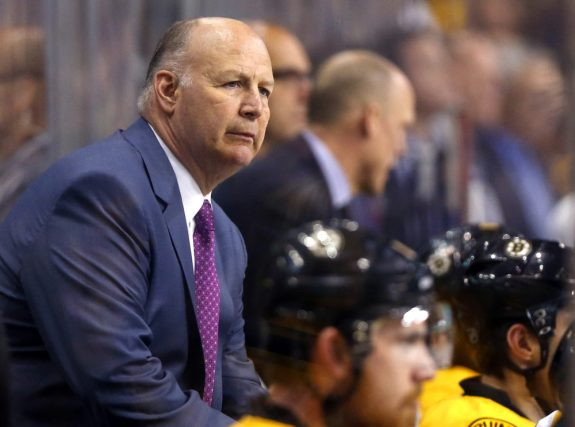 Montreal Canadiens head coach Claude Julien