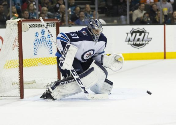 Winnipeg Jets Connor Hellebuyck