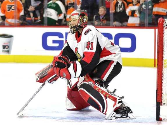 Craig Anderson 41, Ottawa Senators
