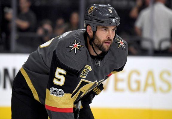 Vegas Golden Knights defenseman Deryk Engelland