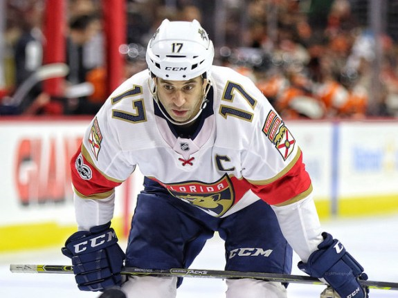 Derek MacKenzie Florida Panthers