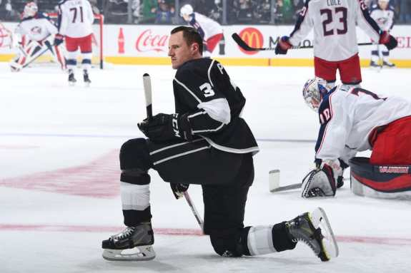 Dion Phaneuf, Los Angeles Kings
