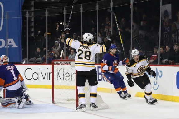Dominic Moore, Boston Bruins, NHL