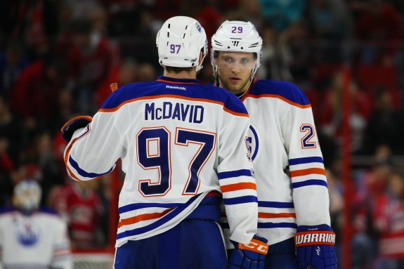 Connor McDavid and Leon Draisaitl
