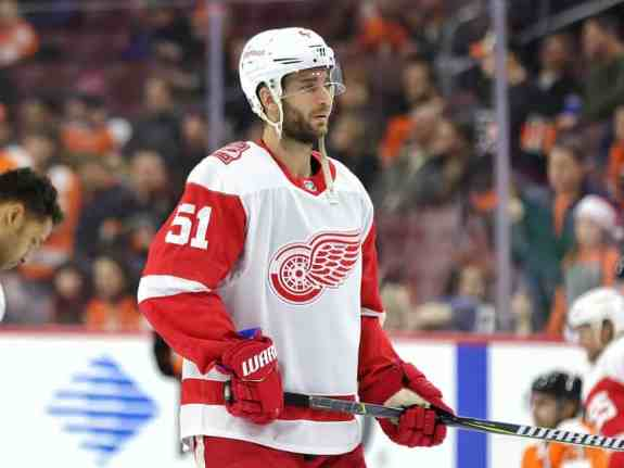 Frans Nielsen Red Wings