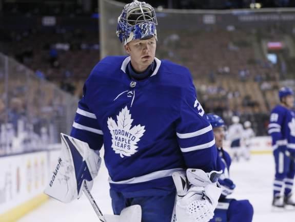 Toronto Maple Leafs, goaltender, Frederik Andersen