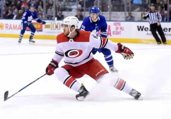 Carolina Hurricanes forward Noah Hanifin