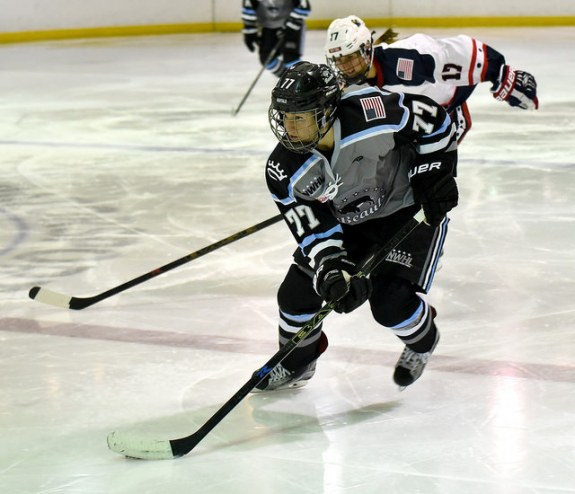 Hayley Williams of the Buffalo Beauts (Photo Credit: Troy Parla)