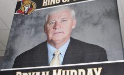 Bryan Murray is First in Senators' Ring of Honour