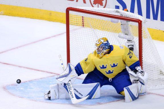 Jacob Markstrom, World Cup of Hockey, Team Sweden