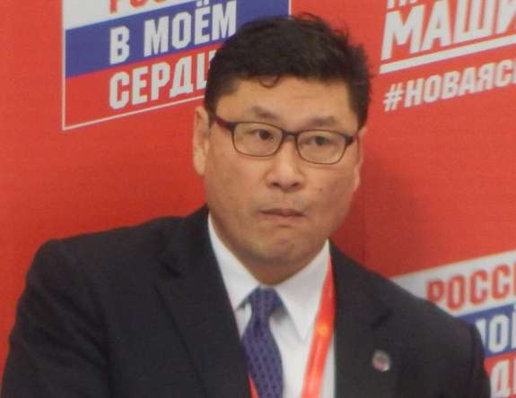 Jim Paek head coach of South Korea