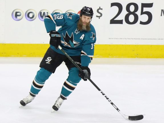 Joe Thornton, San Jose Sharks