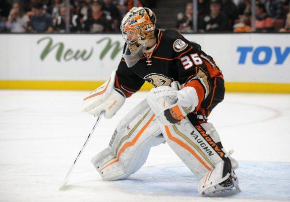 John Gibson, Anaheim Ducks, NHL