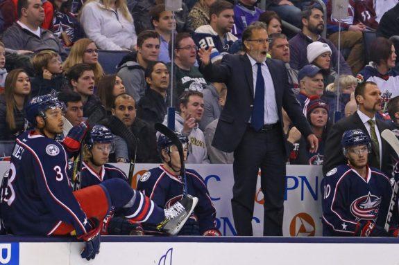 John Tortorella, Columbus Blue Jackets, NHL coach