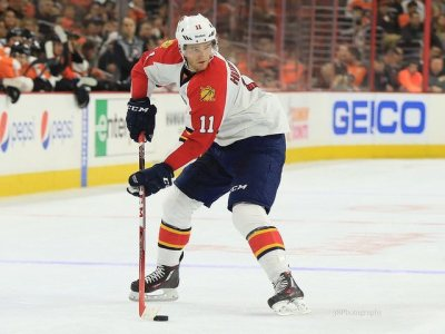 (Amy Irvin/The Hockey Writers) Jonathan Huberdeau getting hurt — out 3-4 months with an Achilles injury — plummeted the Panthers down my standings, but I didn't have Florida as a playoff team even with a healthy roster.