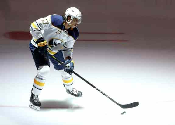 Buffalo Sabres center Jordan Nolan