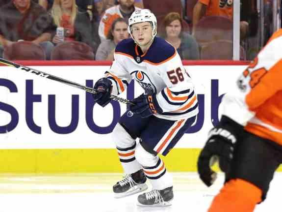 Kailer Yamamoto, Edmonton Oilers