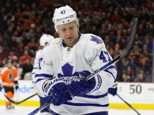 Could the Detroit Red Wings make a deal for Leo Komarov.