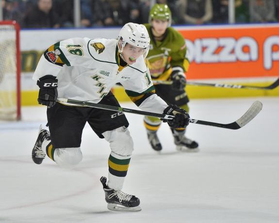 Liam Foudy, London Knights