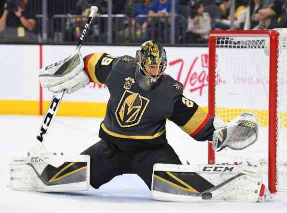 Las Vegas Golden Knights goalie Marc-Andre Fleury