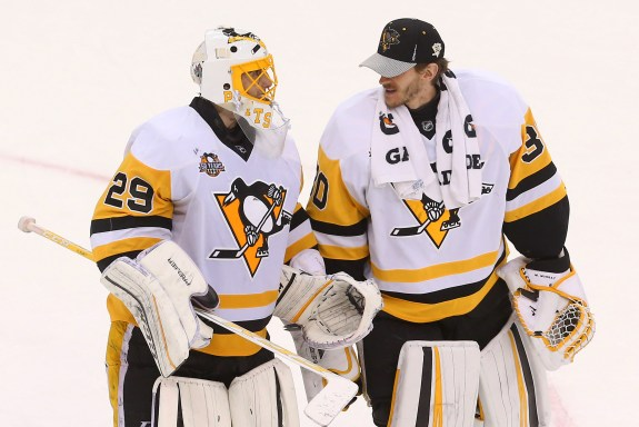 Marc-Andre Fleury, Matt Murray, Pittsburgh Penguins, NHL